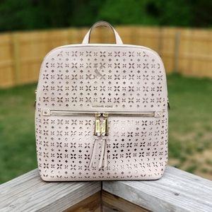 Michael Kors Rhea Slim Medium Backpack Pink